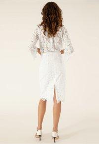 IVY & OAK BRIDAL - Pencil skirt - snow white - 2