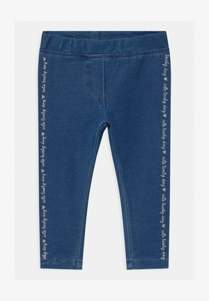 DIAGONAL  - Jegging - faded denim