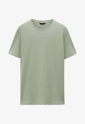 T-shirt basic - evergreen
