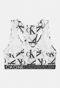 Calvin Klein Underwear - 2 PACK - Bustier - white/romanticpink - 1