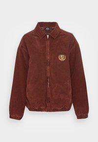 BDG Urban Outfitters - CREST BILLY JACKET - Lett jakke - burgundy - 3