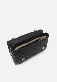 Guess - CESSILY CONVERTIBLE XBODY FLAP - Across body bag - black - 2