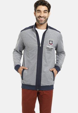 MIKAEL - Zip-up sweatshirt - blau