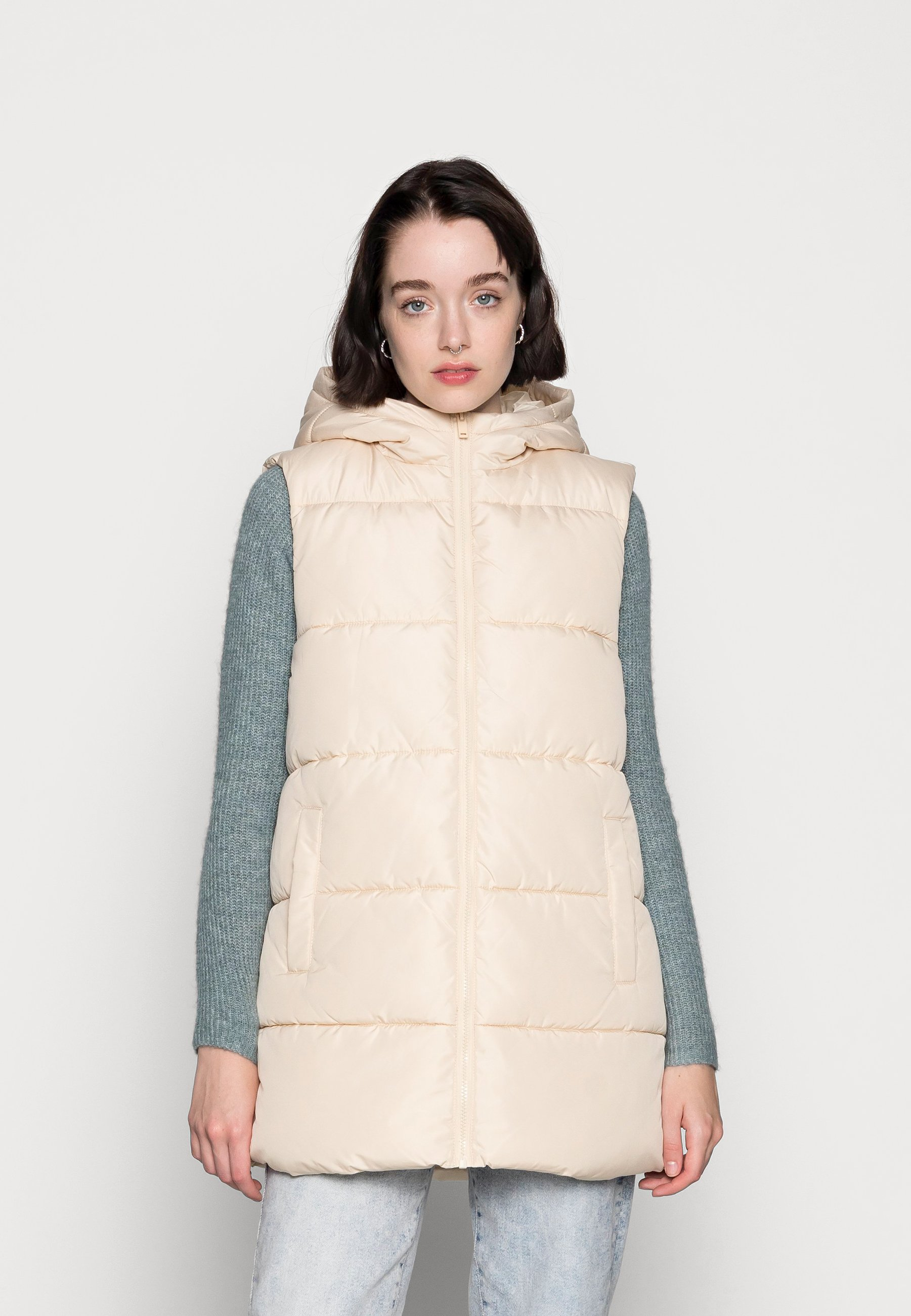 Women PCBEE NEW PUFFER VEST  - Waistcoat