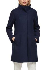 s.Oliver - Classic coat - navy - 5
