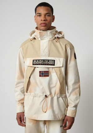 Winter jacket - beige camou