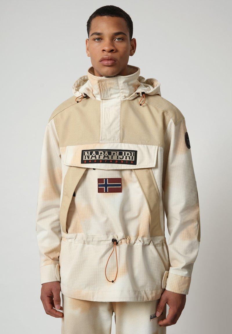 Napapijri - SKIDOO AIRBRUSH CAMO - Summer jacket - beige camou