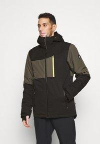 Brunotti - DAKOTO MENS SNOWJACKET - Snowboardová bunda - pine grey - 0