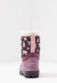Viking - SNOWFALL BEAR - Winter boots - violet/pink - 4