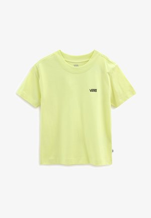 WM JUNIOR V BOXY - Basic T-shirt - sunny lime