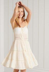 Superdry - ALANA - Day dress - buttercream - 0