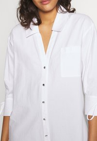 River Island - RICH SHIRT - Button-down blouse - white - 5