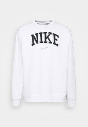 RETRO CREW - Sweatshirt - white