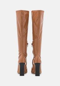 ALDO - EDIGORWEN - Stivali con i tacchi - dark beige - 3