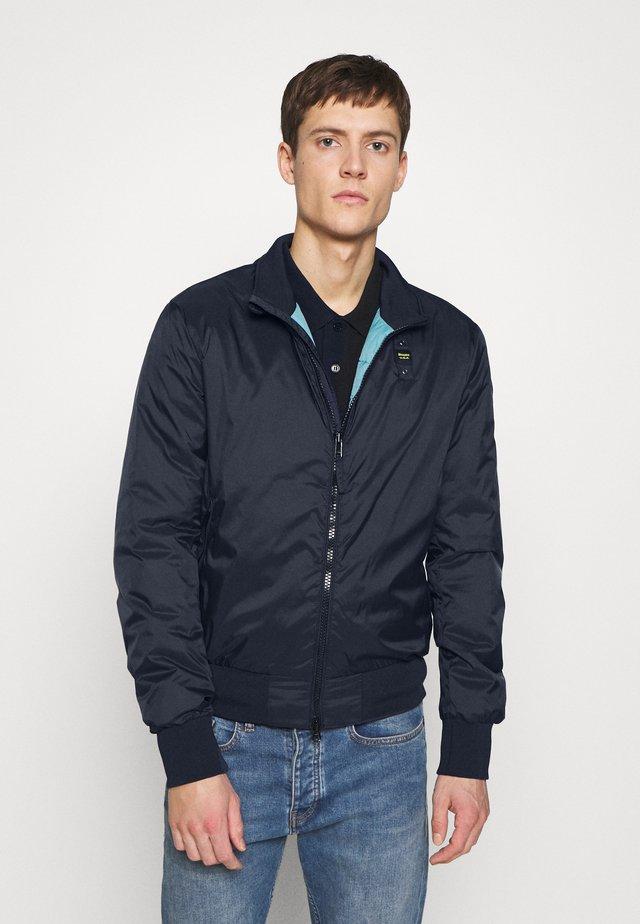GIUBBINI CORTI IMBOTTITO OVATTA - Light jacket - blu zaffiro