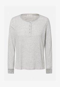 OYSHO - STRIPED - Nattøj trøjer - grey - 6