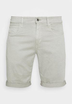 3301 SLIM - Denim shorts - bracket stretch twill - lt orphus