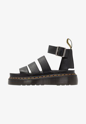 CLARISSA QUAD - Platform sandals - black aunt sally