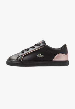 LEROND - Mocasines - black/pink