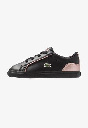 LEROND - Slip-ons - black/pink
