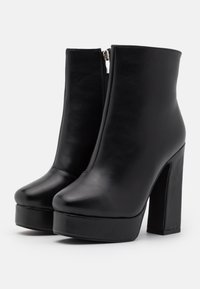 RAID Wide Fit - WIDE FIT CHAYA - Platform ankle boots - black - 2