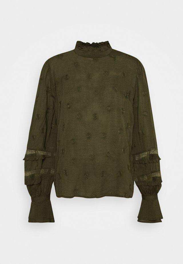 LEO - Camicetta - army green