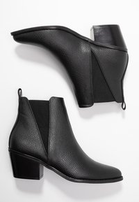 Even&Odd - Kotníková obuv - black - 3