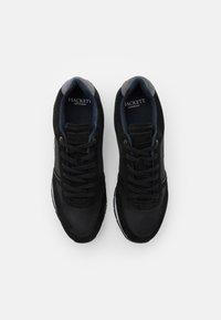 Hackett London - YORK EYELT TRAINER - Sneakers - black - 3