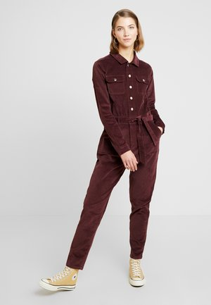 MICRO BOILER SUIT - Combinaison - deep red