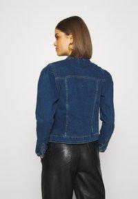 ONLY - ONLALLY  - Jeansjakke - dark-blue denim - 2