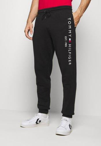 BASIC BRANDED - Pantaloni sportivi - black