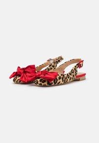 Alma en Pena - Slingback ballet pumps - red - 2