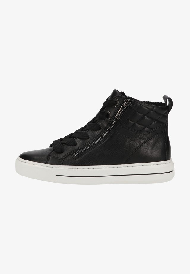Sneakers high - schwarz