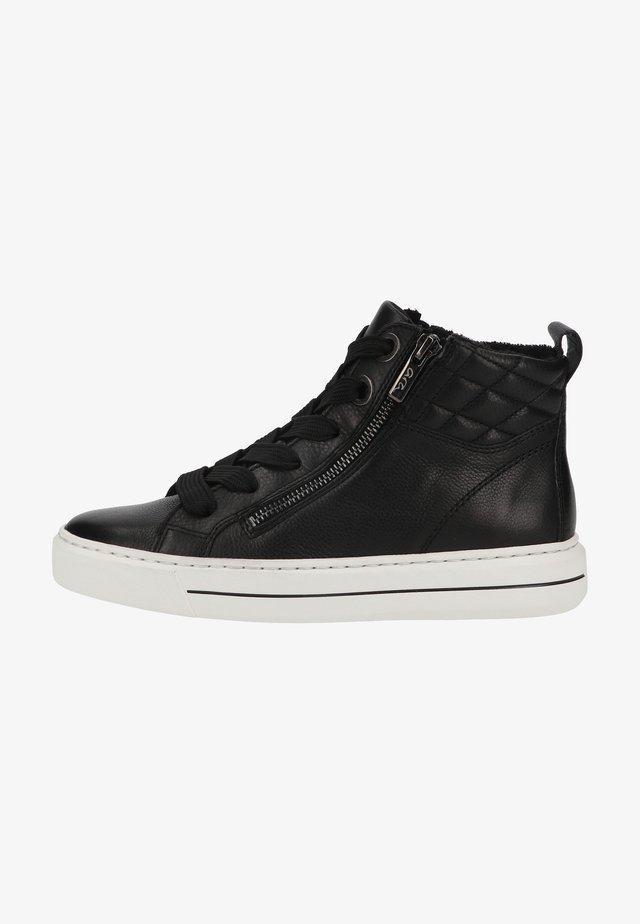 Baskets montantes - schwarz