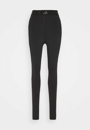 LONG  - Legging - black