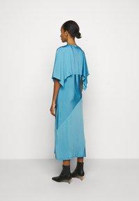 MM6 Maison Margiela - Žerzejové šaty - blue - 2