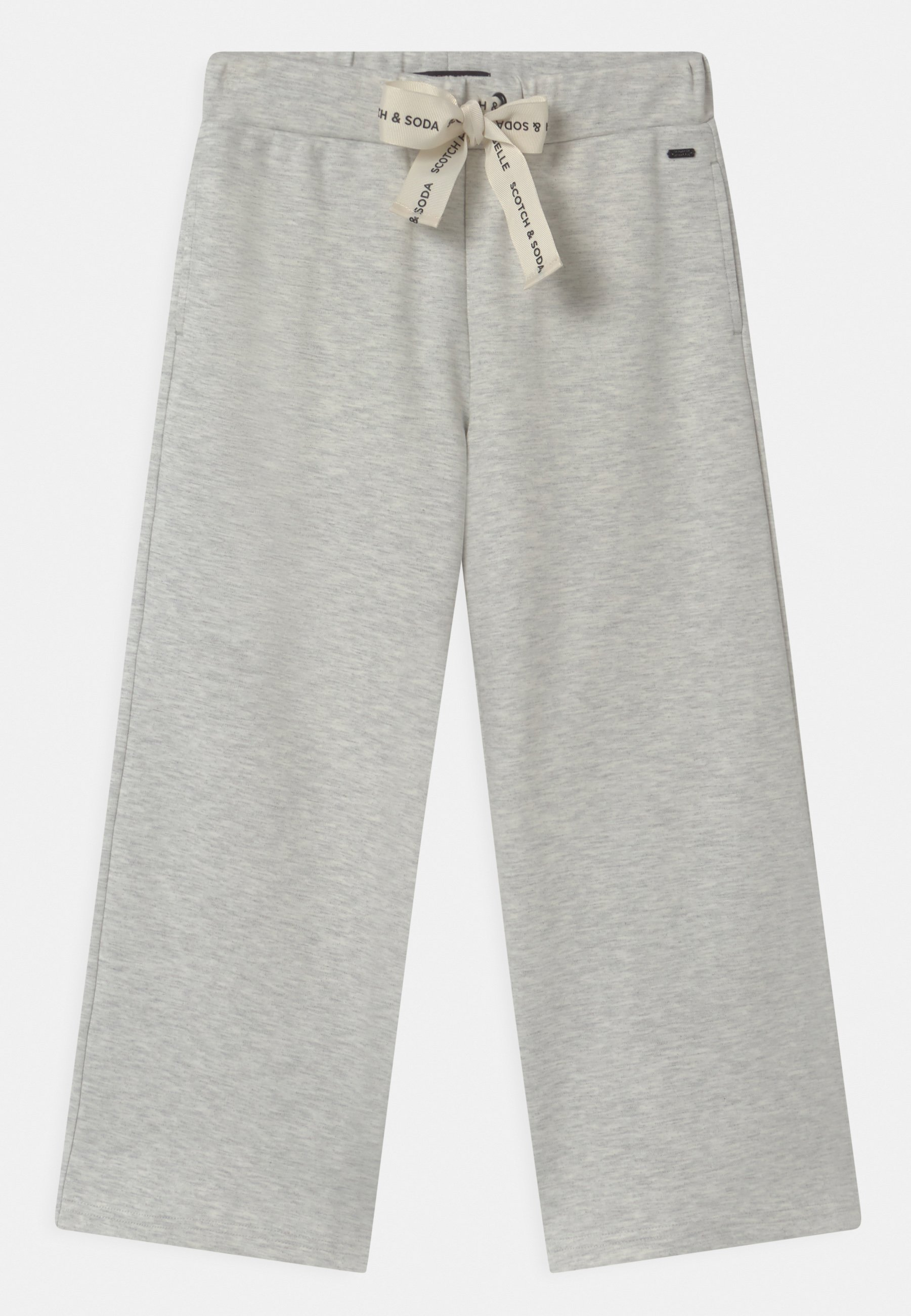 Kids WIDE LEG WITH BANDED WAIST CORDS - Tracksuit bottoms