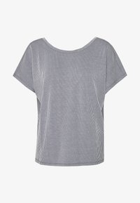 ONLY - ONLSHIRLEY STRING BACK TOP - T-shirt con stampa - night sky/cloud dancer - 3