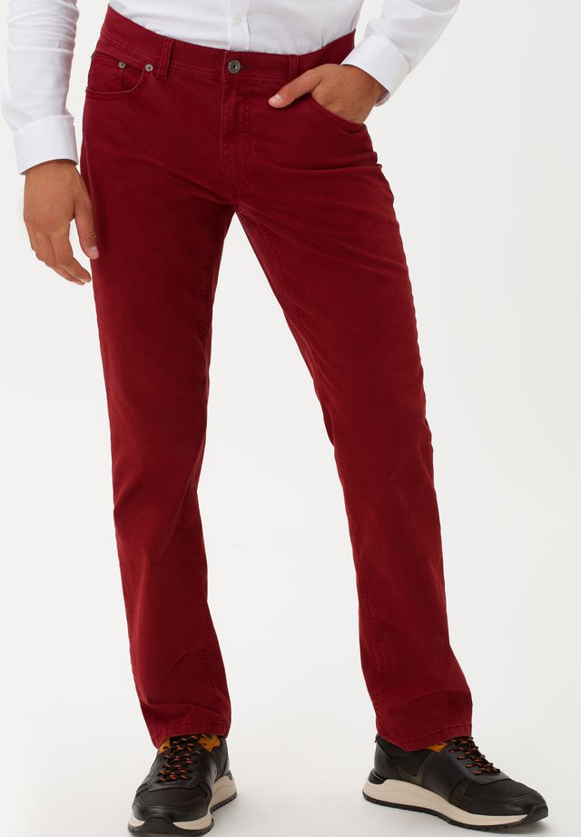 STYLE COOPER FANCY - Straight leg jeans - merlot
