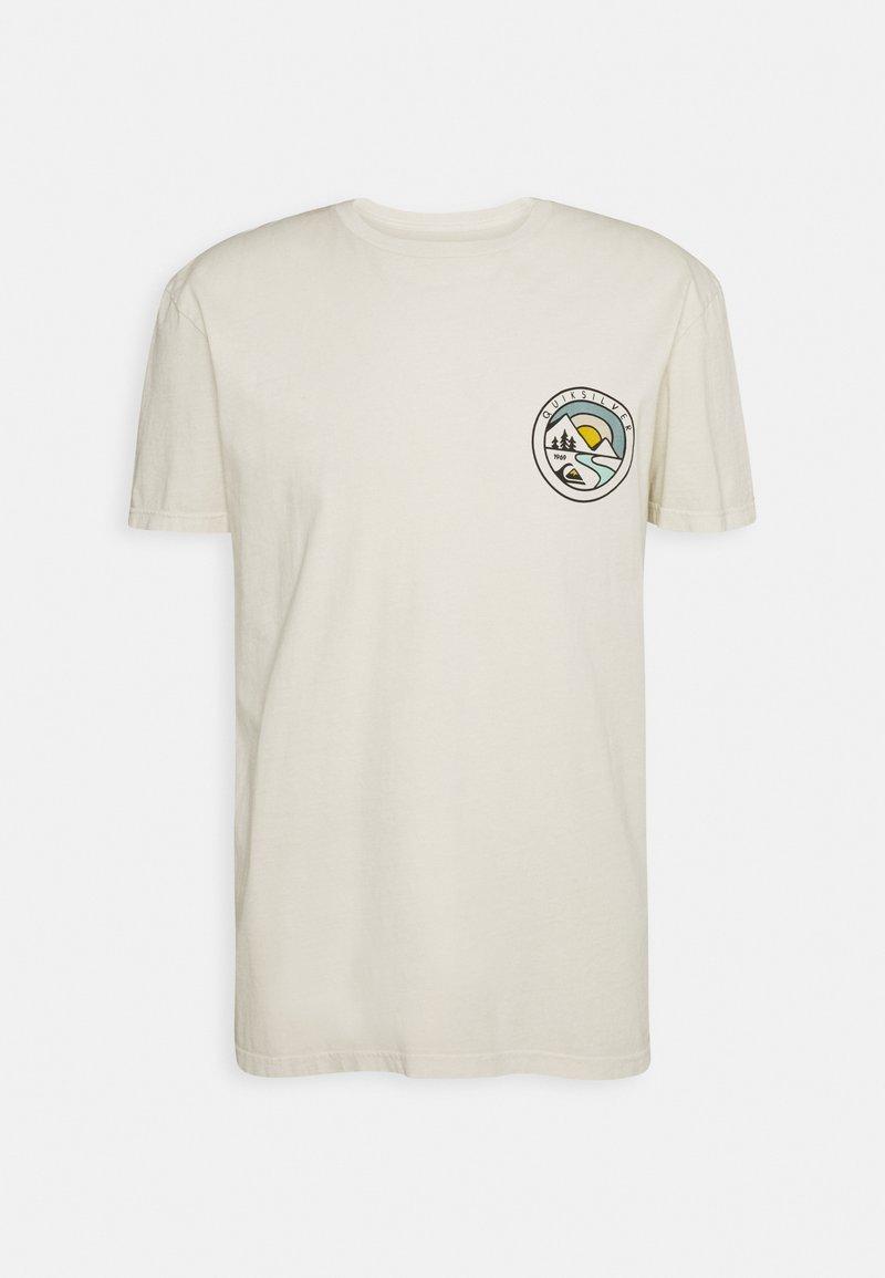 Quiksilver - MOUNTAIN VIEW - Print T-shirt - oatmeal