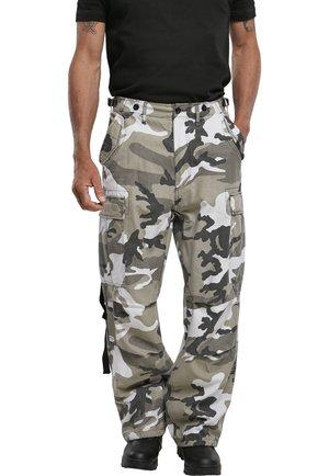VINTAGE - Cargo trousers - black