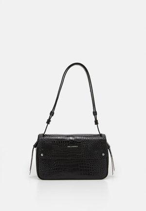 IKON CROC SHOULDERBAG - Handbag - black
