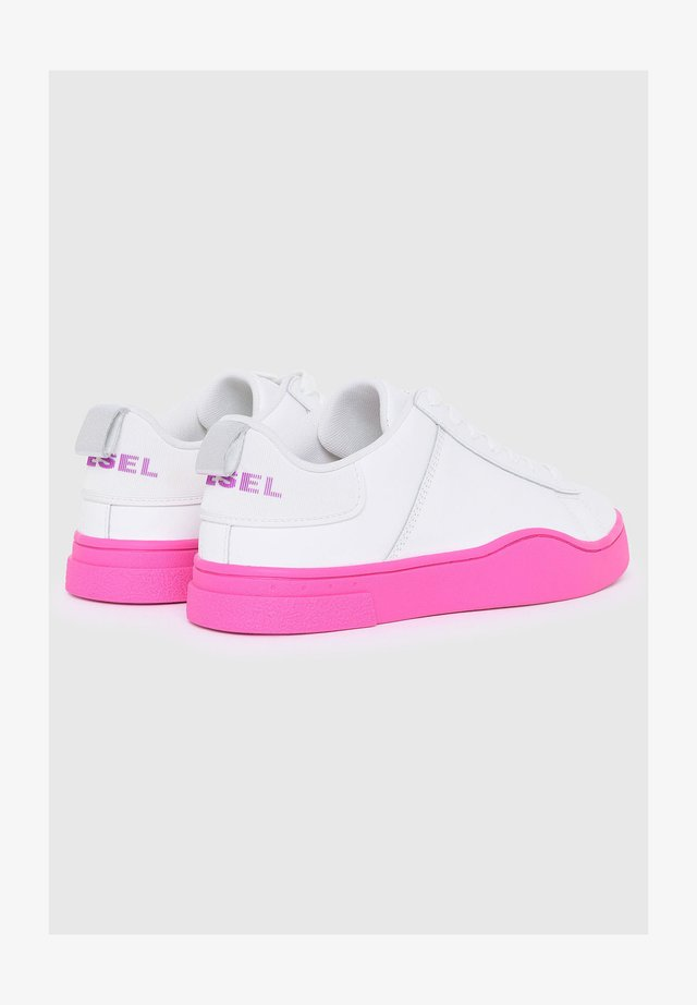 Sneakers laag - white/pink