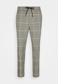 Only & Sons - ONSLINUS CROPPED CHECK PANT - Kalhoty - black - 3