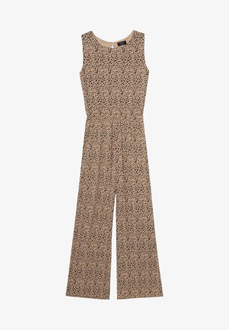 C&A - Jumpsuit - black / beige