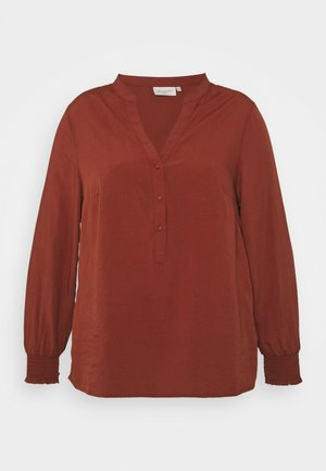 CARLORAINE - Blouse - roasted russet
