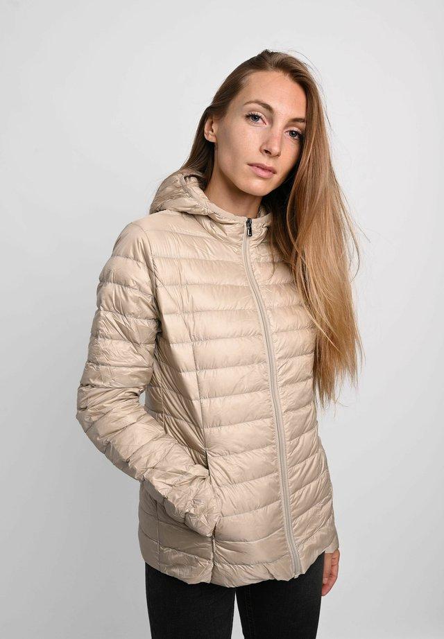 Down jacket - sable