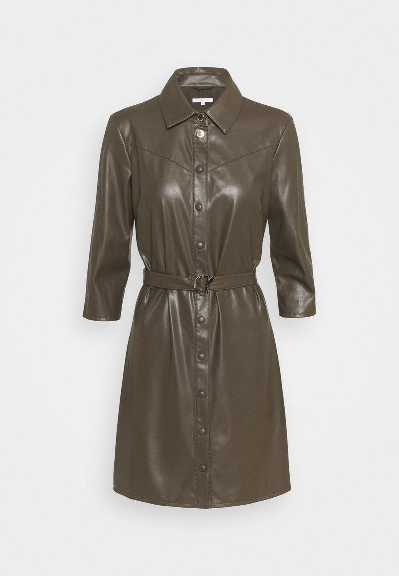 Patrizia Pepe - ABITO DRESS  - Shirt dress - mangrove green