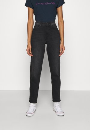 ONLVENEDA LIFE MOM  - Jeans baggy - black denim