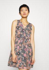 Vero Moda - VMNUKA DRESS - Day dress - carnelian/nuka - 0